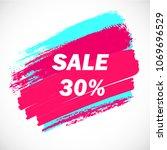 vector colorful sale singboard. ...   Shutterstock .eps vector #1069696529