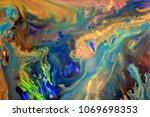abstract art background... | Shutterstock . vector #1069698353