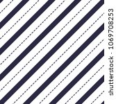 minimal lines vector seamless... | Shutterstock .eps vector #1069708253