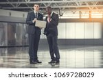 full length portrait of... | Shutterstock . vector #1069728029