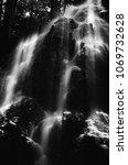 dark landscape  black and white ...   Shutterstock . vector #1069732628