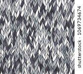 vector monochrome handdrawn...   Shutterstock .eps vector #1069734674