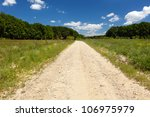 Landscape With A Dirt Road In...
