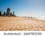 gold coast  au | Shutterstock . vector #1069785230