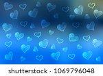 light blue vector template with ... | Shutterstock .eps vector #1069796048