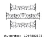 Decorative Forged Fence