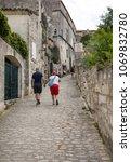 les baux de provence  france   ...   Shutterstock . vector #1069832780