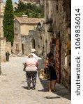 les baux de provence  france   ...   Shutterstock . vector #1069836014