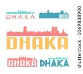 dhaka bangladesh flat icon...