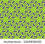 minimalist geometric seamless... | Shutterstock .eps vector #1069858430