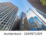 high rise building in the... | Shutterstock . vector #1069871309