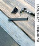 renovations   installing... | Shutterstock . vector #1069878014
