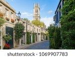 circus lane in edinburgh   Shutterstock . vector #1069907783