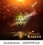 ramadan kareem greetings   Shutterstock .eps vector #1069939124