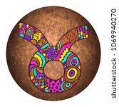 taurus zodiac sign.... | Shutterstock .eps vector #1069940270