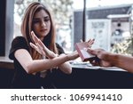 he handed out cigarettes to...   Shutterstock . vector #1069941410