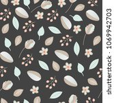 Seamless Floral Pattern. Cute...