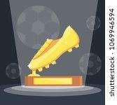 football soccer sports awards... | Shutterstock .eps vector #1069946594