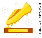 football soccer sports awards...   Shutterstock .eps vector #1069946600