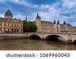 paris  france   may 24  2016 ... | Shutterstock . vector #1069960043
