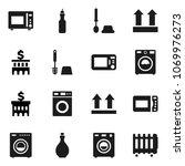 flat vector icon set   toilet... | Shutterstock .eps vector #1069976273