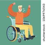 vector cartoon illustration of... | Shutterstock .eps vector #1069976543