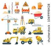 construction vector flat...   Shutterstock .eps vector #1069998428