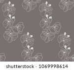 vector pastel colorful... | Shutterstock .eps vector #1069998614