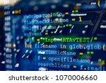software code development as... | Shutterstock . vector #1070006660