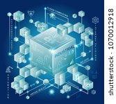industry 4.0 and smart... | Shutterstock .eps vector #1070012918