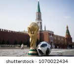 april 16  2018 moscow. russia... | Shutterstock . vector #1070022434
