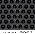 vector seamless geometric... | Shutterstock .eps vector #1070046929