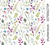Watercolor Floral Pattern  Cute ...