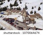 aerial image of timberline...   Shutterstock . vector #1070064674