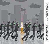 internet and social network...   Shutterstock .eps vector #1070065520