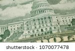 united states capitol on 50... | Shutterstock . vector #1070077478