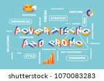 advertising and promo bright... | Shutterstock .eps vector #1070083283