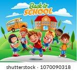 illustration for back to school   Shutterstock .eps vector #1070090318