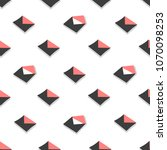 seamless pattern emails ... | Shutterstock . vector #1070098253