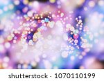 abstract multicolored fractal... | Shutterstock . vector #1070110199
