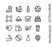 beer bottle icon with health...