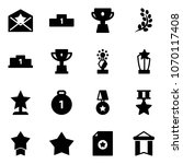 solid vector icon set   star... | Shutterstock .eps vector #1070117408