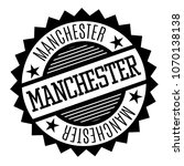 manchester black and white... | Shutterstock .eps vector #1070138138