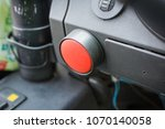 cutting off the ignition in the ... | Shutterstock . vector #1070140058