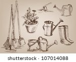 Garden Tools. Collection Of...
