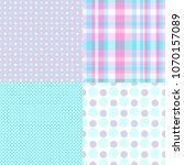 seamless multicolored pattern.... | Shutterstock . vector #1070157089