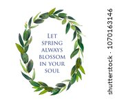 template for congratulations or ... | Shutterstock . vector #1070163146