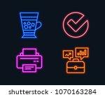 neon lights. set of verify ...   Shutterstock .eps vector #1070163284