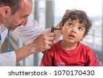 ent medical examination with... | Shutterstock . vector #1070170430