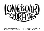 surf lettering quote for... | Shutterstock .eps vector #1070179976